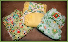 HappilyDomestic- sewing cloth diapers using Babyville Boutique fabrics.
