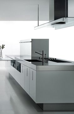 ♂ Modern minimalist design kitchen