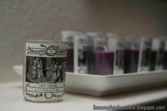 Reasons for Chocolate: Votive Candles for The Stations of the Cross