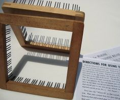 ThreeOldKeys: Just Weave It -- Donar Pin Looms