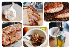 Grilled Balsamic-Garlic Crusted Pork Tenderloin