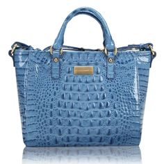 Brahmin blue, brahmin bag