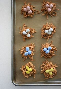 Nest Egg Cookies