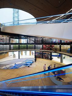 Library Design | Library of Birmingham by Mecanoo | Wow!