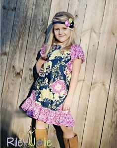 FREE PATTERN: Marilyn's Slim Fit Peasant Dress and Top