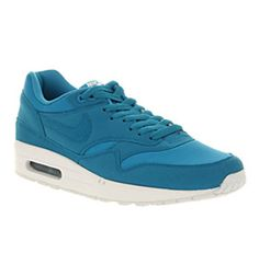 Nike AIR MAX 1 DYNAMIC BLUE DYNAMIC BLUE WHITE Shoes - Nike Trainers - Office Shoes