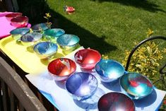 homemad garden, balls, green mama, gaze ball, garden gaze, homemad gaze, gardens, homes, home made