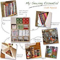Get the craft room organization & storage idea. room organization, craft organization, sewing organization, sew room, storag idea, sewing rooms, organization ideas, storage ideas, craft rooms