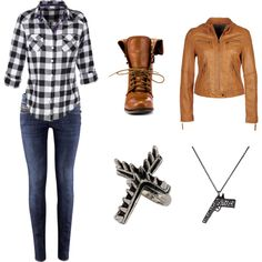 Sam Winchester - Supernatural inspired outfits