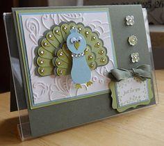 peacock punch art - bjl