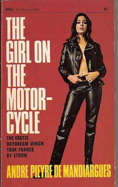 Tumblr motorcycles, girl, bike, book