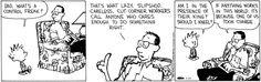 newspap funni, laugh, favorit, control freak, comic strip, hobb funni, smile, calvin infp, quot