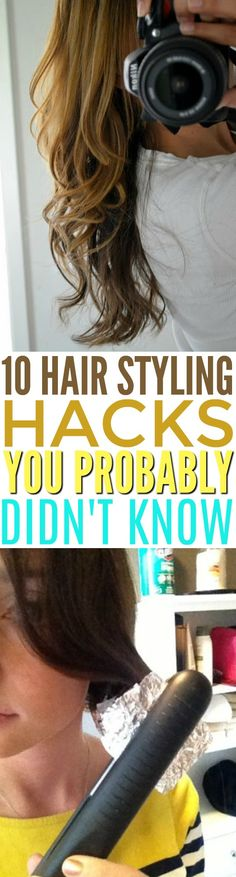 Hair Styling Hacks Y