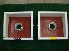 Washer Toss Board Game--DIY
