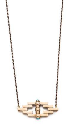 Pamela Love Reflection Pendant Necklace