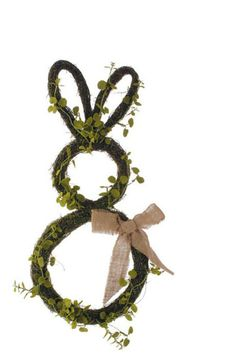 Wreaths For Door - Miss Moss Rabbit Door Wreath, $56.99 (http://www.wreathsfordoor.com/miss-moss-rabbit-door-wreath/)