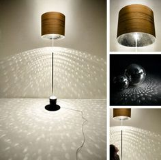 Disco ball lamp