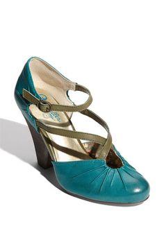 dolli pump, fashion shoes, color combos, heel, awesom shoe, seychell dolli, blue shoes, seychelles, seychell blue