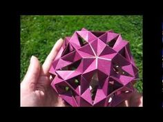 Origami ❉ Money-Box ❉ Kusudama - YouTube