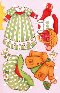 Easter Clothes For Strawberry Shortcake Cloths