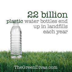 No more plastic water bottles!