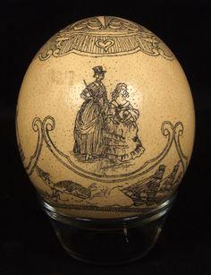 Scrimshaw egg