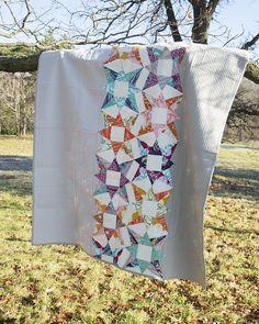 Star Bright Quilt ~ Pattern from Vintage Quilt Revival star bright, vintage quilts, quilt patterns, star quilts, lemon modern, book, quilt reviv, bright quilt, modern quilt