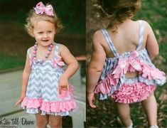 Swing Top Set - no patten link,  just love this for inspiration!