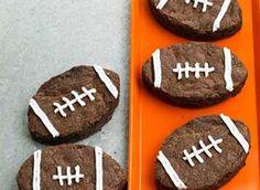 Superbowl brownies!