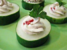 cool cucumber finger foods