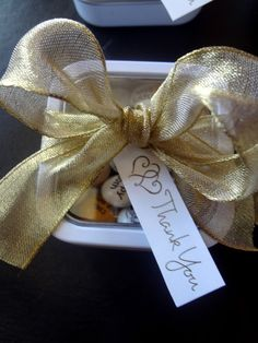 50th Wedding Anniversary Gift Ideas For Guests : ... party favors for guests at my parents 50th wedding anniversary party