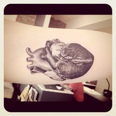 Anatomical Heart (tattoo?)