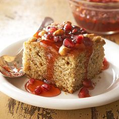 Fall dessert recipes from Better Homes and Gardens.