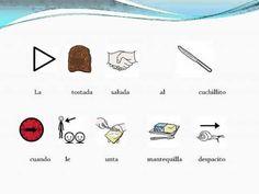 """CANCIONES - """"El twist de los alimentos"""".  Canción de los Cantajuegos, adaptada con pictogramas de ARASAAC, porque comer puede ser además muy divertido."""