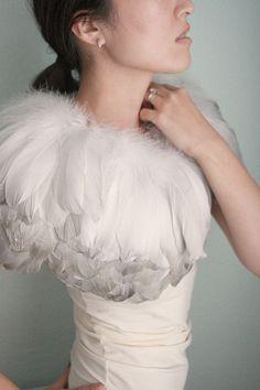 feather caplet via twigs & honey..swoon!