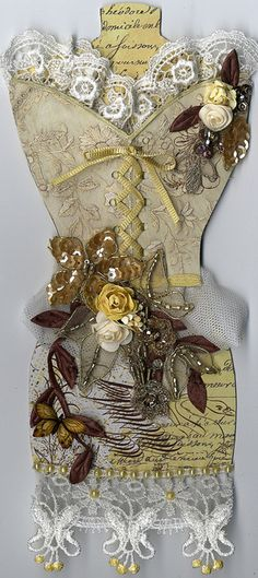 decorated dress form