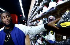 What sneakers is Big K.R.I.T. copping right now? Find out on Sneaker Shopping.
