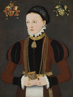 Ludger Tom Ring the Younger  (1522–1584)  Portrait of a young patrician lady  c. 1565