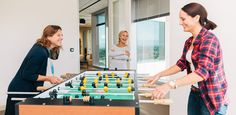 Nothing like a foosball table to promote company culture //