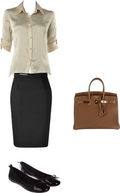 Sample interview outfit