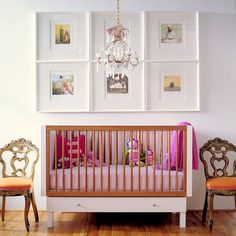 chic baby room