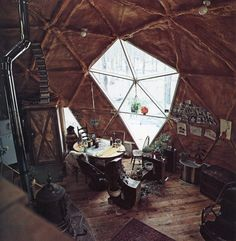 old school dome home