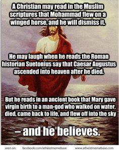 #religion #myth #christian #muslim #jesus #bible #atheist #atheism