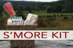 Christmas DIY S'more Kit gift + free printable tag