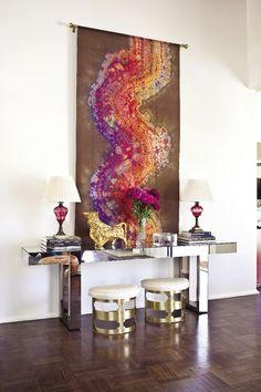 Console Desk Decor #interiordesign #interior #design #women #interiordesignideas #homedesign #interiordesigners