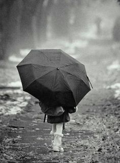 Alone in the rain by Su_sunshine, via Flickr