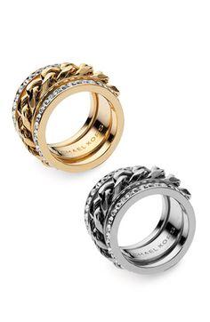Michael Kors Stackable Rings (Set of 3) - us $49.90