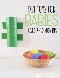 DIY Toys for 8-12 Month Olds – The Paige Diaries