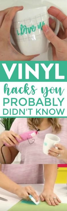 Today on the blog I'm sharing a bunch of Vinyl Hacks You Probably Didn't Know. If you are a die cutting fan, you're going to love these ideas. They're sure to make your projects so much easier! #cricut #cricutmade #cricutmachine #cricutmaker #cricutexplore