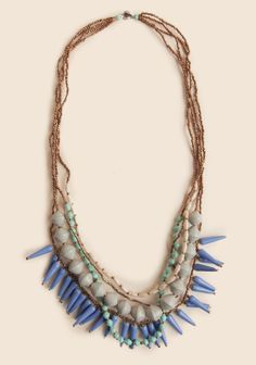 Capri Skies Necklace By 31 Bits at #Ruche @Ruche